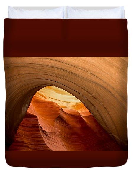 Lower Antelope Canyon Navajo Tribal Park #12 Duvet Cover