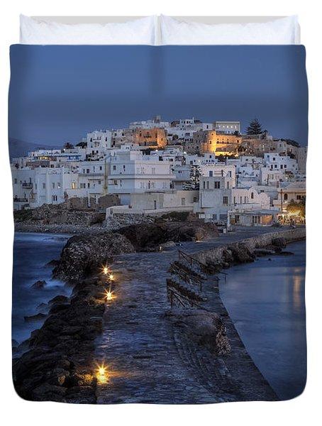 Naxos - Cyclades - Greece Duvet Cover by Joana Kruse