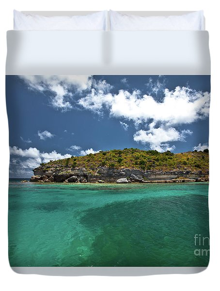 Sea And Clouds Duvet Cover