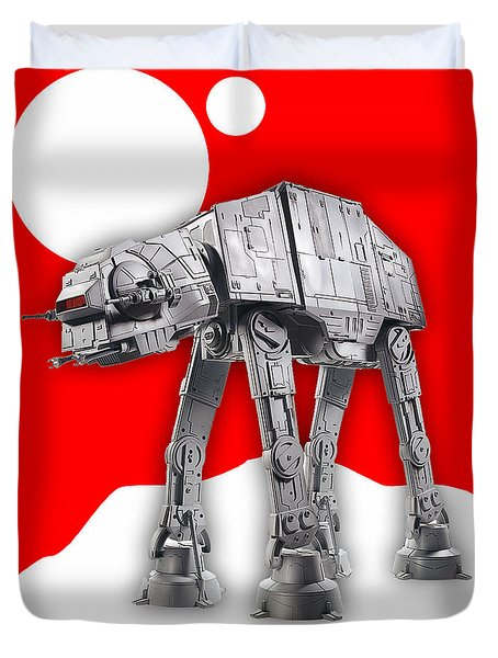 Star Wars At-at Collection Duvet Cover