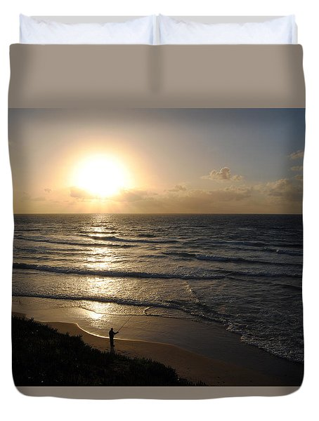 Sunset At Jaffa Beach 5 Duvet Cover