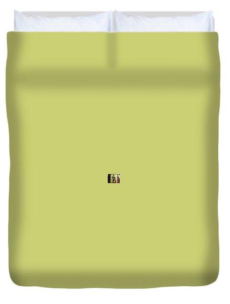 #11 Talisa Hartley Houston Energy  Duvet Cover by Talisa Hartley