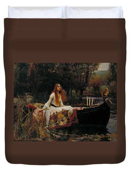 The Lady Of Shalott Duvet Cover
