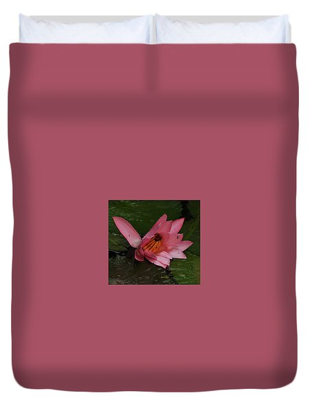 Water Lilly Duvet Cover by Ronald Olivier