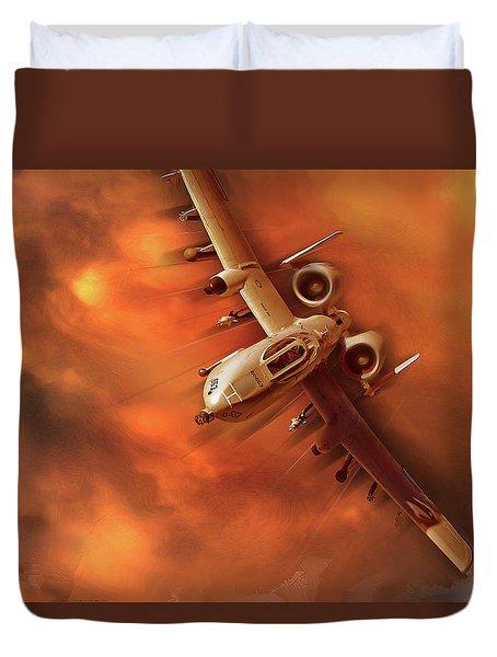 A-10 Warthog Duvet Cover