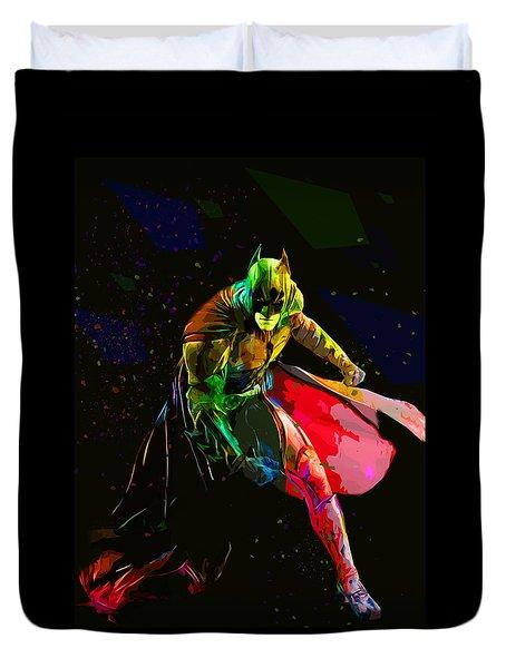 Batman Duvet Cover by Elena Kosvincheva