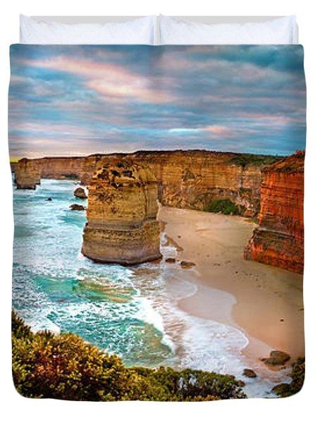 12 Apostle Sunset Duvet Cover
