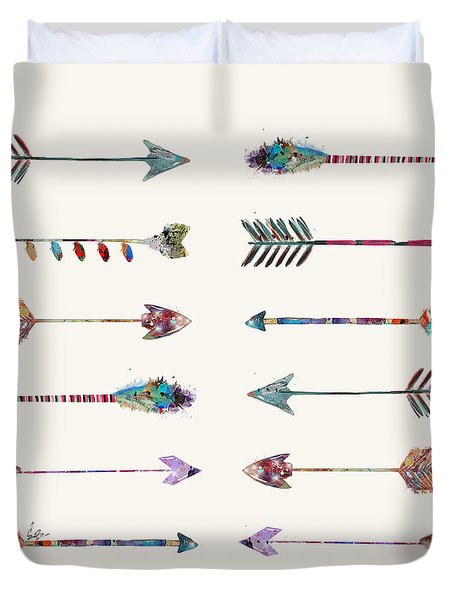 12 Arrows Duvet Cover