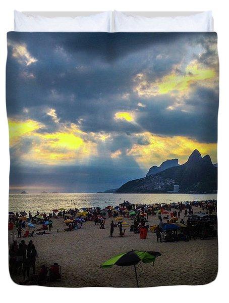Ipanema Beach Duvet Cover