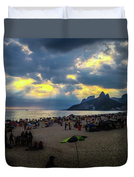Ipanema Beach Duvet Cover