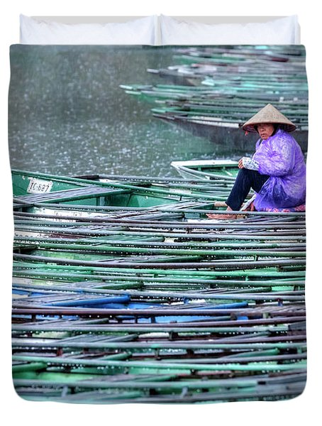 Ninh Binh - Vietnam Duvet Cover