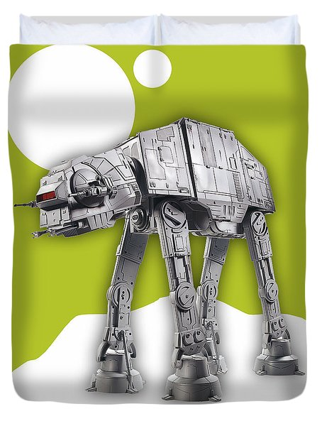 Star Wars At-at Collection Duvet Cover by Marvin Blaine
