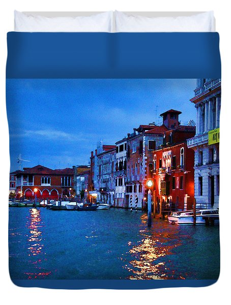 Venice - Untitled Duvet Cover by Brian Davis