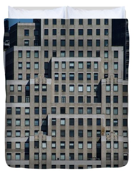 120 Wall Street Nyc Duvet Cover