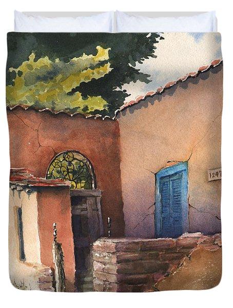 1247 Agua Fria Street Duvet Cover
