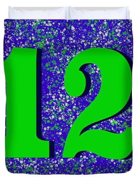 12th Man Duvet Cover