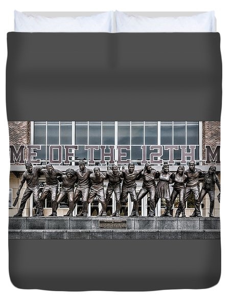 12th Man Duvet Cover