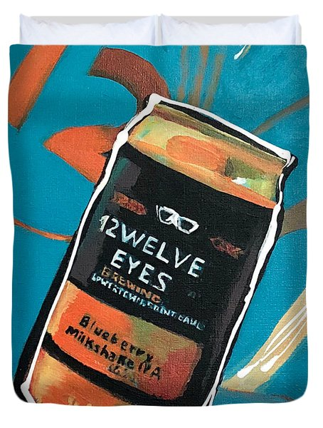 12welve Eyes Duvet Cover