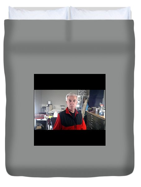 Duvet Cover featuring the photograph . by James Lanigan Thompson MFA