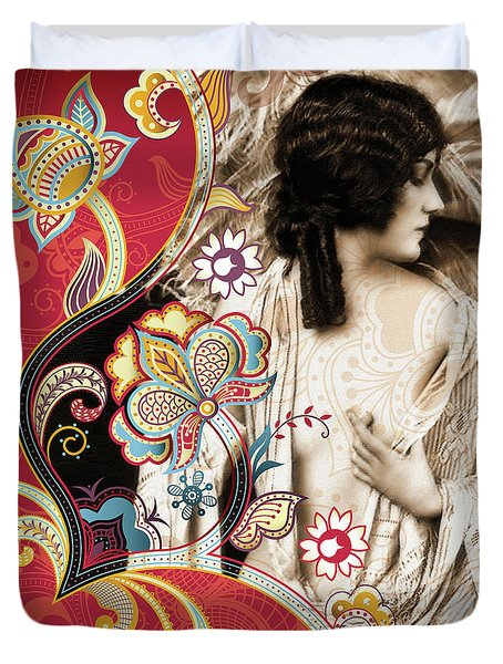 Goddess Duvet Cover by Chris Andruskiewicz
