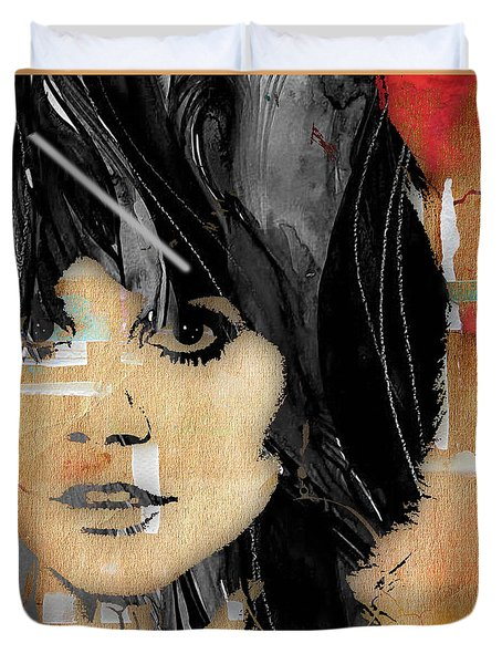 Linda Ronstadt Collection Duvet Cover