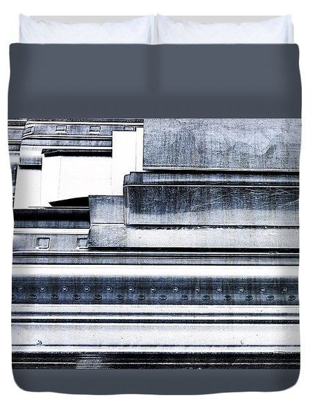 Metal Bars Duvet Cover