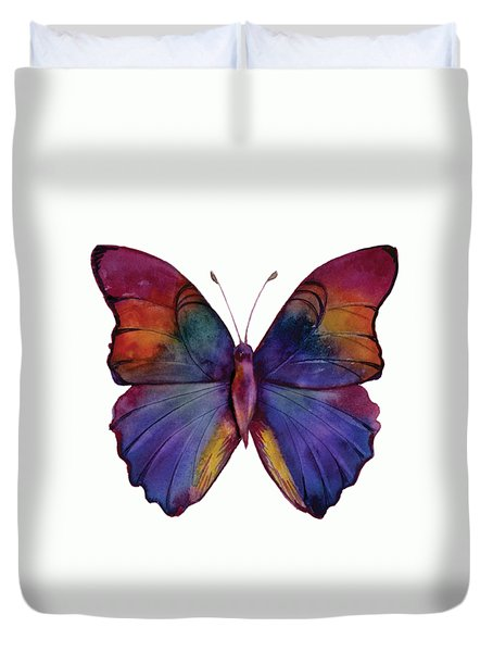 13 Narcissus Butterfly Duvet Cover