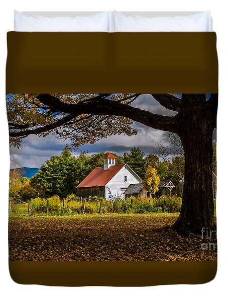 New England Photography 2016 Calendar.  Duvet Cover