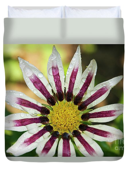 Nice Flower Duvet Cover by Elvira Ladocki