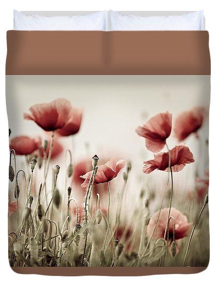 Poppy Dream Duvet Cover