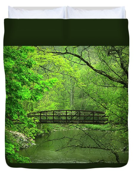 Jacobsburg State Park Pa Duvet Cover