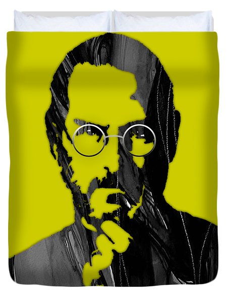 Steve Jobs Collection Duvet Cover