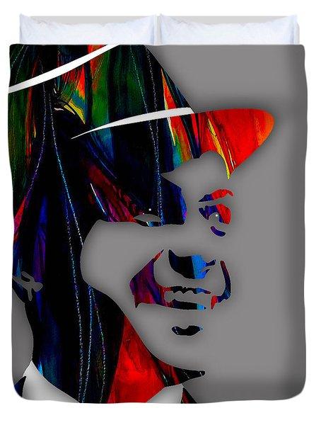 Frank Sinatra Collection Duvet Cover