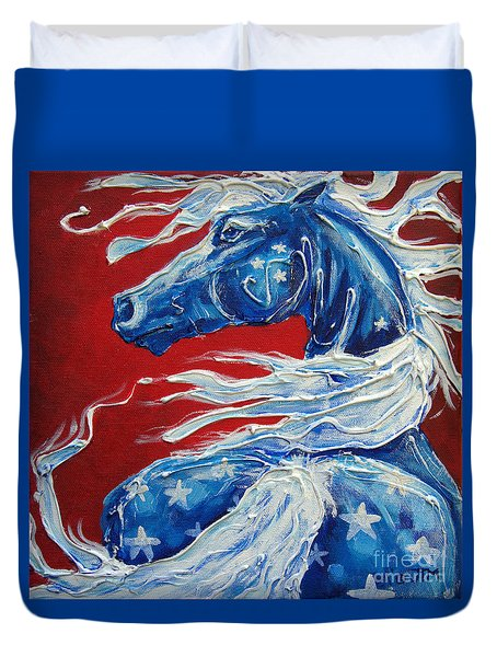 #14 July 4th Duvet Cover