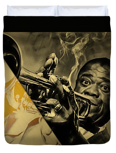 Louis Armstrong Collection Duvet Cover