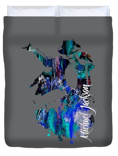 Michael Jackson Collection Duvet Cover