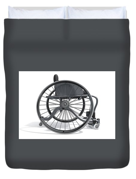 Sports Wheelchair Duvet Cover