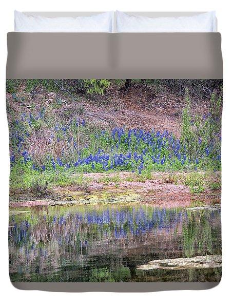 Texas Bluebonnets 8 Duvet Cover