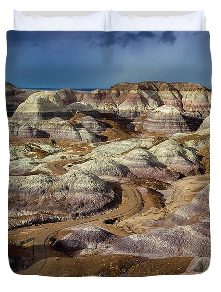 The Petrified Forest National Park Duvet Cover
