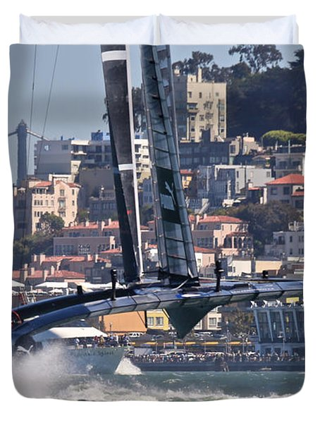 Oracle America's Cup Duvet Cover