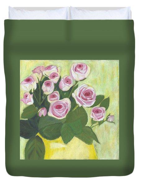 15 Pinks Duvet Cover by Arlene Crafton