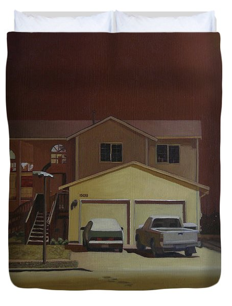 15698 168th Ave. S.e. Duvet Cover by Thu Nguyen