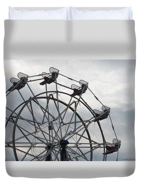 15th Street Ferris Wheel Duvet Cover