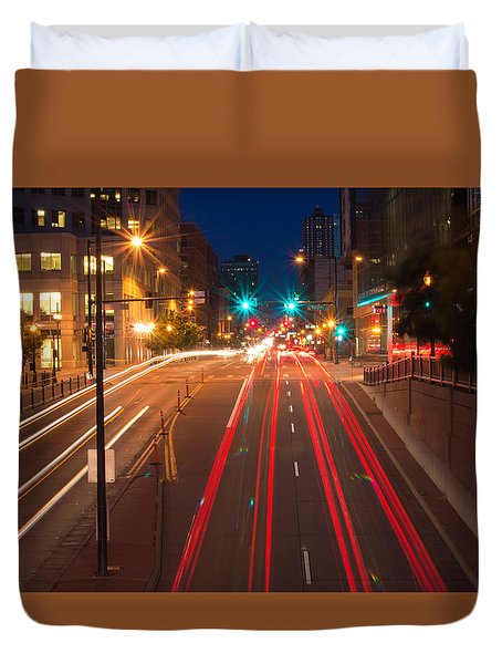 15th Street Duvet Cover