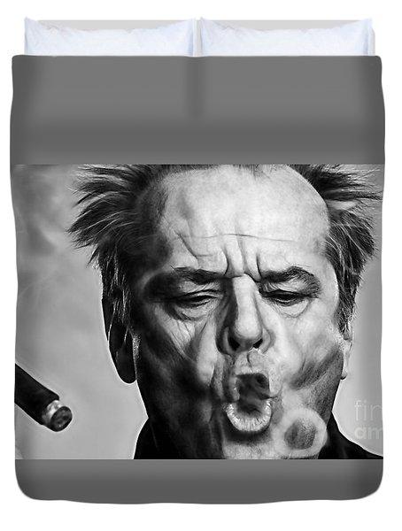 Jack Nicholson Collection Duvet Cover