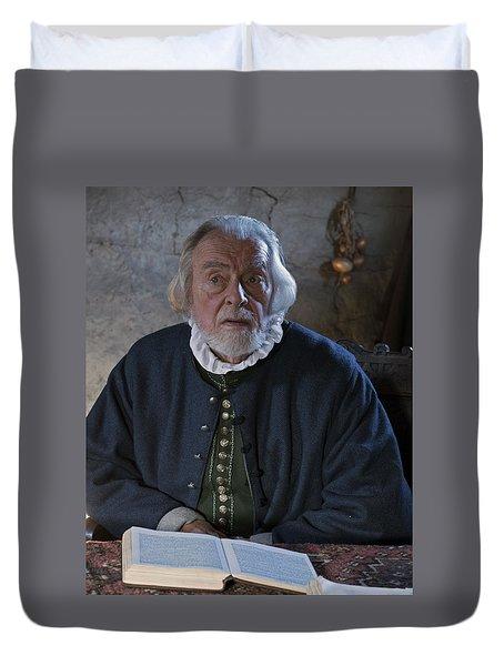 1600's Pilgrim Duvet Cover