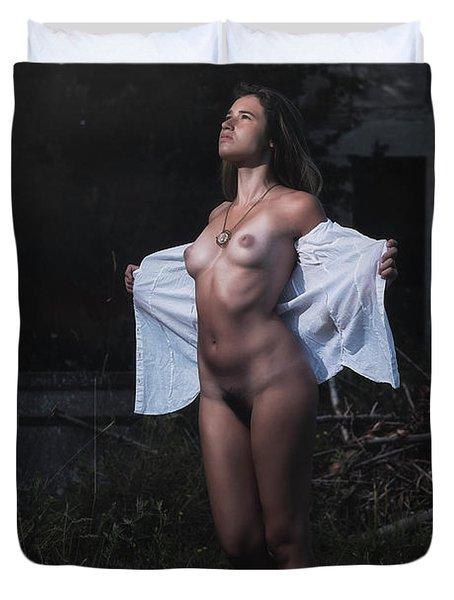 Dafne Duvet Cover by Traven Milovich