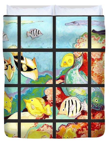 17 Fish Duvet Cover
