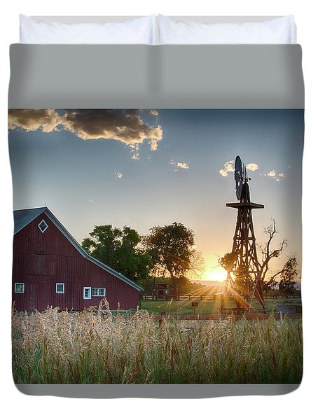 17 Mile House Farm - Sunset Duvet Cover
