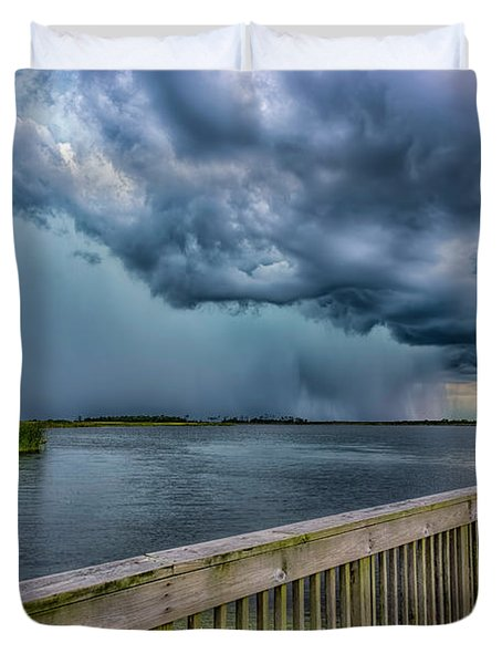 Storm Watch Duvet Cover